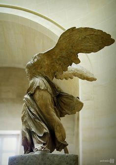 Nike - Winged Victory of Samothrace, Musee du Louvre