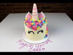 Magical Unicorn Cake I CHELSWEETS - YouTube