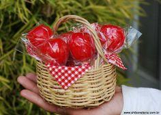 Maçãs do Amor - Sabonetes Artesanais da Shiboneteria