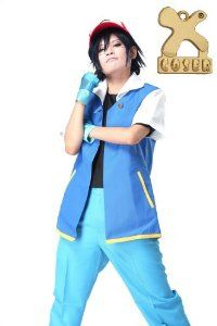 Pokemon Ash Ketchum Jacket Shirt Gloves Cosplay Costume R… Ash Ketchum Jacket, Ash Ketchum Hat, Ash Ketchum Cosplay, Pokemon Ash Ketchum, Ash Pokemon, Teen Jackets, Royal Blue Suit, Cosplay Costumes For Men, Pokemon Costumes