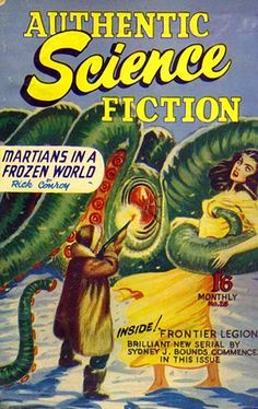 Authentic Science Fiction #26   (Oct 1952)