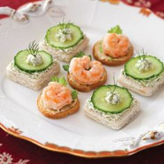 yummly shrimp brie and cucumber sandwiches shrimp brie and cucumber ...