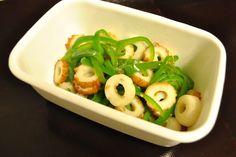 常備菜 : ピーマンとちくわのごま油風味の炒めもの