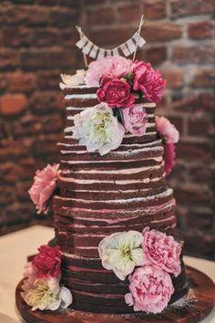 Dürfen wir vorstellen: Der neueste Tortentrend 'Naked Cakes'. Mhmmmm.... #cakes #cakelove