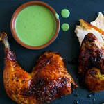 Green Goddess Chicken (video) - if you want the recipe in written form, go directly to http://www.nytimes.com/recipes/1015232/green-goddess-roasted-chicken.html