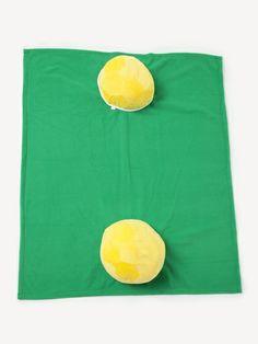 Bola com cobertor