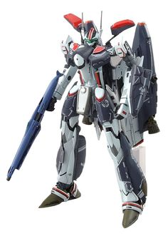 Alto's custom VF-25F Messiah Valkyrie makes its debut in kit form with the release of this detailed snap-fit plastic model kit!
