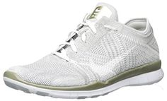 finest selection b6ac7 ff589 nike womens free TR flyknit metallic running trainers 804534 sneakers shoes  US 85 pure platinum white metallic gold 003     More info could be found at  the ...