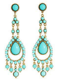 6c83c897006d15 International Designer Jewellery Ben Amun Turquoise Earrings Turquoise  Earrings