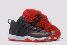 71b642aa06e42 New Nike LeBron Ambassador 9 Black Red White Copuon Code
