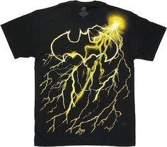 Batman Lightning Logo T-Shirt