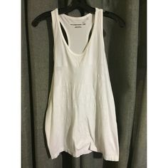 Alexander Wang x H&M Quick Dry Tank Top NWOT. Pure White.  Always Authentic  Fast Shipping. Alexander Wang x H&M Tops Tank Tops
