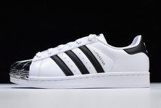 b2b14ac5969 Womens adidas Superstar Metal Toe White Black BB5114