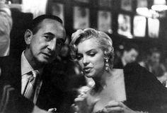 Marilyn at Club 21 in New York. September 1954.