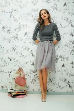 Luv to Look | Curating Fashion & Style: Fashion trends | Grey outfit