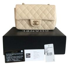 Chanel Rectangular Mini Light Beige Cross Body Bag. Get the trendiest Cross Body Bag of the season! The Chanel Rectangular Mini Light Beige Cross Body Bag is a top 10 member favorite on Tradesy. Save on yours before they are sold out!