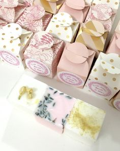 Baby Shower Soap Party Favors   Custom Box Colors And Labels  Free Shipping    Wedding