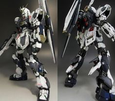 MG Nu Gundam Ver.Ka: a little weathered with a badass Color scheme. Work by aa49899989 Photoreview Wallpaper Size Images