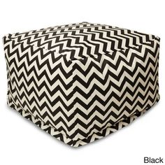 Indoor/Outdoor Majestic Home Goods Large Zig-zag Ottoman | Overstock™ Shopping - Big Discounts on Majestic Home Goods Sofas, Chairs & Sectio...