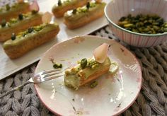 Pistachio eclairs recipe | WhyNut