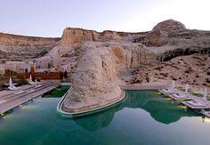 Amangiri Hotel de luxo em pleno deserto http://www.mundodeluxo.com.br/turismo-e-viagens/amangiri-hotel-de-luxo-em-pleno-deserto