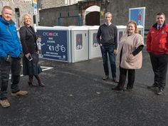 Secure bike locking system installed in Naas this week Cycle Storage, Parking Solutions, Bike Parking, Bicycles, 18 Months, Locks, Period, June, News