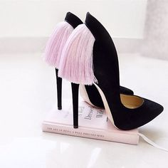 Look at these fabulous shoes from Nour, Strictly Weddings, Bling Shoes, Suede Pumps, Stiletto Heels, Stilettos, Christian Louboutin, Shoe Bag, Pink