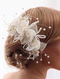 Bridal Hair Flower - Milanoo.com