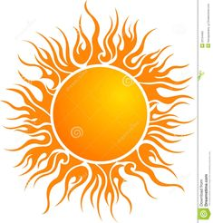 sun art vector clipart of a bright summer sun with petal rays 1 by rh pinterest com Free Vector Silhouettes Free Sun Graphics