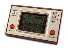 Nintendo Game & Watch Wide Screen Chef FP-24 MIJ 1981 Good Condition_99 #Nintendo