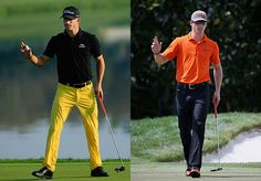 Alex Holmes' weekly look at what the pros are wearing on the golf course Mens Golf, Parachute Pants, Dan, How To Wear, Wedding, Style, Fashion, Dolphins, Valentines Day Weddings