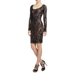 BCBGMAXAZRIA - DRESSES: COCKTAIL: TANYA LACE DRESS