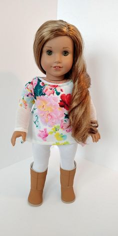 18 inch doll clothes. Fits like American girl .18 inch doll