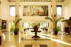 Sarova White Sands Beach Resort & Spa in Mombasa, Kenya sits right on the Indian Ocean