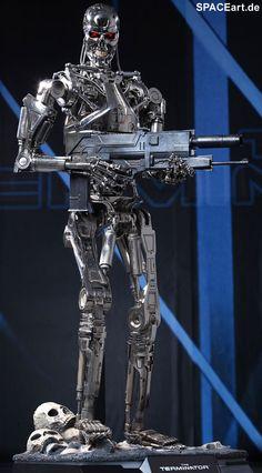 Terminator: T-800 Endoskelett - Giant Deluxe Figur, Fertig-Modell ... http://spaceart.de/produkte/te019.php please repin!