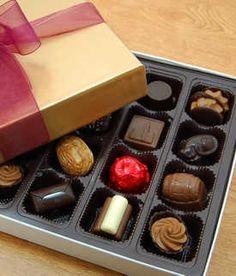 belgian assorted chocolates @ Rose City Chocolatier