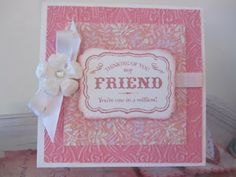 """Mary's """"Paper Blessings"""" papercrafting and card classes."""