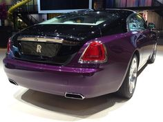 Wraith's striking fastback at IAA Frankfurt Motor Show 2013.