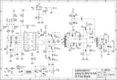 Výsledek obrázku pro zdroj 0-30v 0-5a schema Power Supply Circuit, Electronic Schematics, Math Equations, Projects, Designer Fonts, Log Projects, Blue Prints