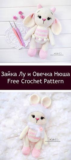 Mesmerizing Crochet an Amigurumi Rabbit Ideas. Lovely Crochet an Amigurumi Rabbit Ideas. Baby Mermaid Crochet, Crochet Bunny, Diy Crochet, Crochet For Kids, Crochet Animals, Crochet Ideas, Crochet Bookmarks, Rabbit Toys, Crochet Patterns Amigurumi