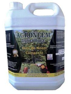 Óleo De Neem - Nim Comp. Agroneem 5 L - R$ 78,00