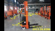 Xe Nâng Bán Tự Động 1 tấn 1.5 tấn 2 tấn cao 1.6m 2m 3m 3.5m tại chợ xe nâng