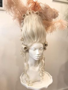 High Fashion Hair, Venice Mask, Alice Angel, Maria Theresa, Carnival Of Venice, Quality Wigs, Editorial Hair, Anime Poses Reference, Fantasy Hair