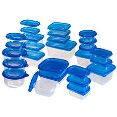 20 Piece Glass Storage Container Set Xmas list Pinterest Glass