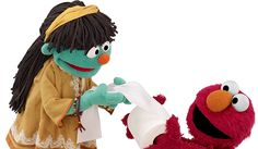 """Sesame Street's newest Muppet Raya, will be educating more than 40 million children in Nigeria, India and Bangladesh on the importance of sanitation and hygiene practices through their wash up! Initiative."""" Through partners and local networks in these countries, original Sesame Street multimedia content will meet the needs of specific regions, helping children to develop critical skills for lifelong learning."""