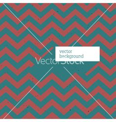 Retro zigzag patterned card vector - by pashabo on VectorStock®