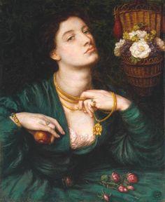 Le Prince Lointain: Dante Gabriel Rossetti (1828-1882), Monna Pomona -...