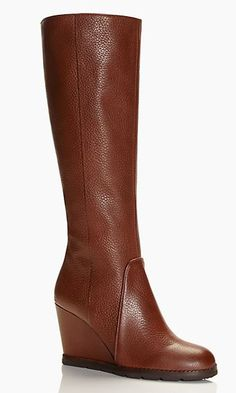 Cute wedge boots #fallmusthave