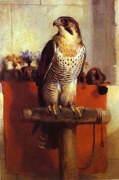 Falcon by Sir Edwin Landseer