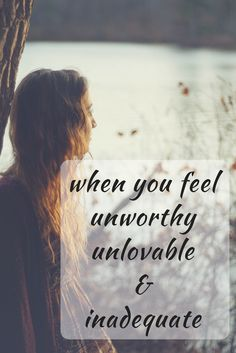The lie is that God doesn't love me because I am unworthy, unlovable, inadequate, invisible. The truth is much greater.  via @restingsecure